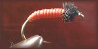 нахлыстовая мушка мотыль