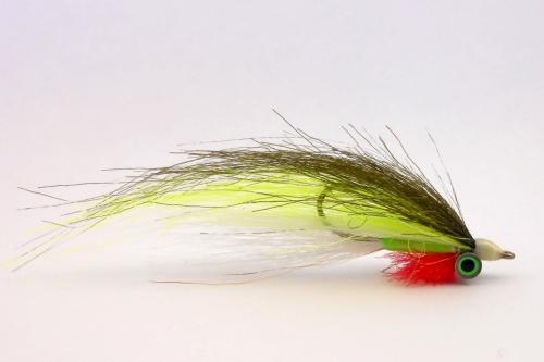 Стример Clouser Kraft Fur(Olive-Chartreuse)